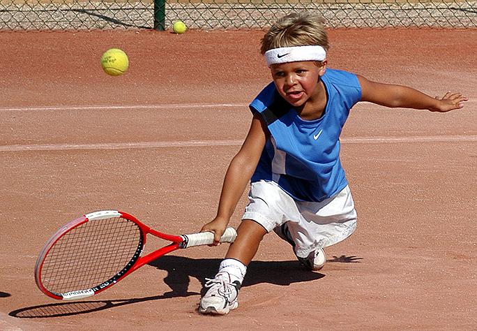 fabrication d 39 un champion de tennis